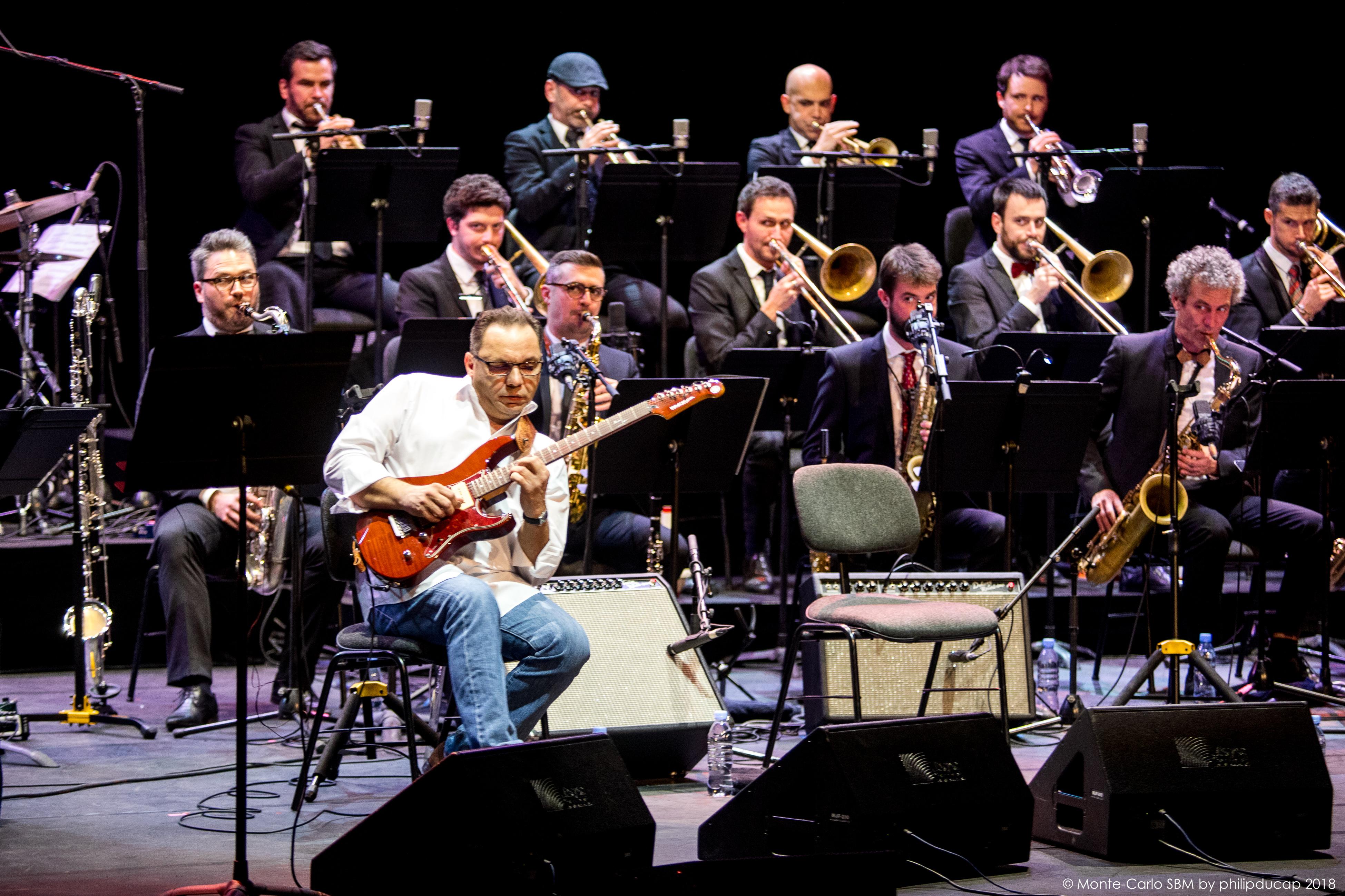 Bireli Lagrene Monte-Carlo Jazz Festival Monaco