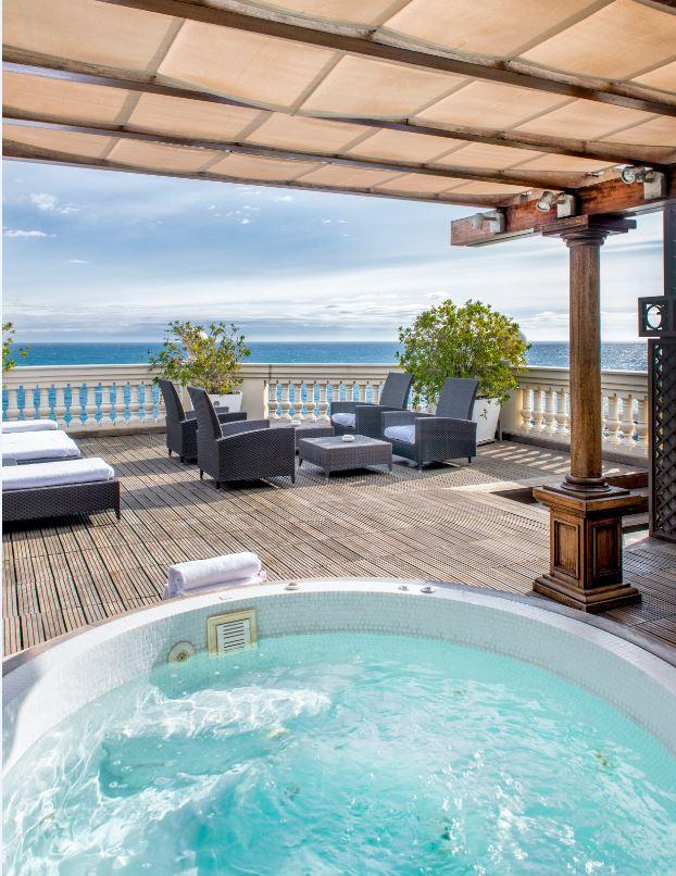 Diamond Suite duplex Hôtel Hermitage Monte-Carlo