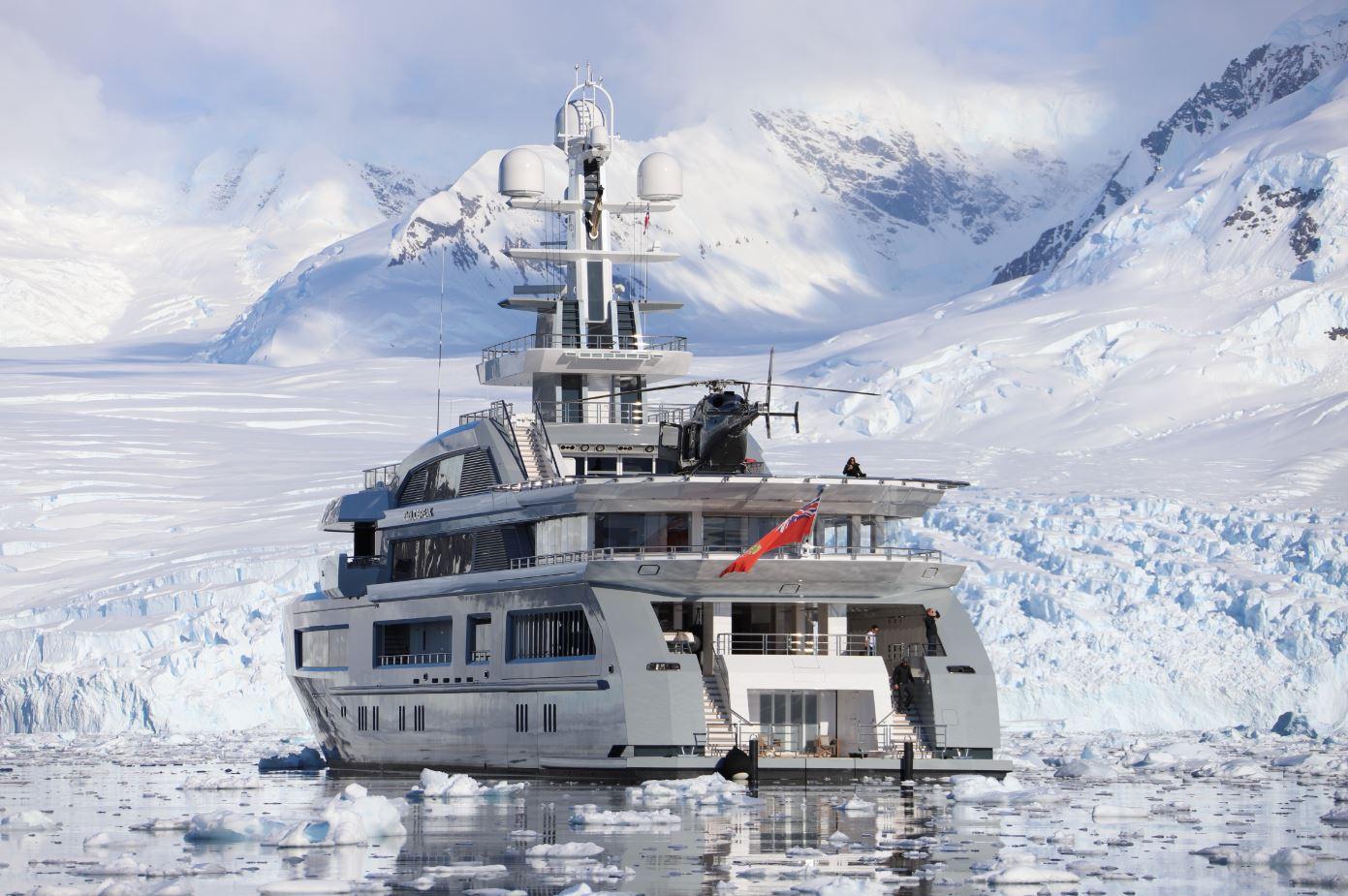 Espen Oeino design yacht Monaco
