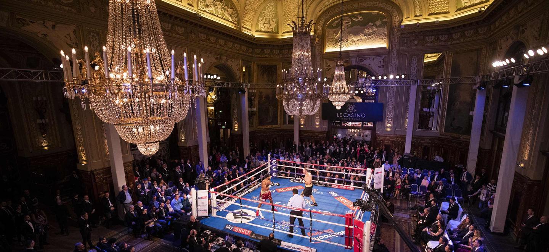 Monte-Carlo Boxing Bonanza Casino de Monte-Carlo Monaco Ustinov vs Hunter