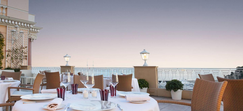 Hotel Hermitage Monte-Carlo Restaurant Le Vistamar Monaco