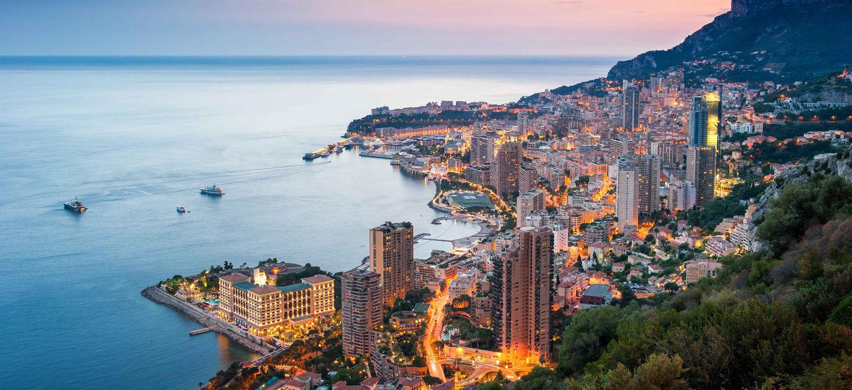 Sunset Monaco vue générique Monte-Carlo