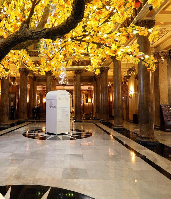 Campagne Make a Wish 2021 Atrium Casino Monaco Monte-Carlo