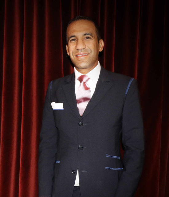 Khalid El Hajraoui premier barman du Bar Americain Hotel de Paris Monte-Carlo Monaco