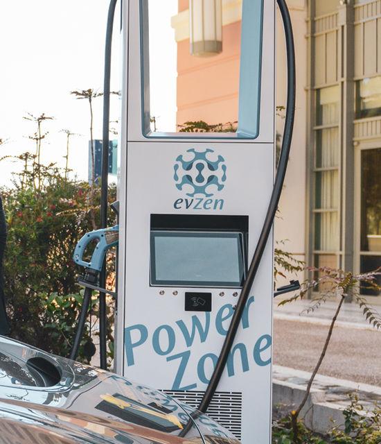 Le superchargeur électrique du Monte-Carlo Bay Hotel & Resort