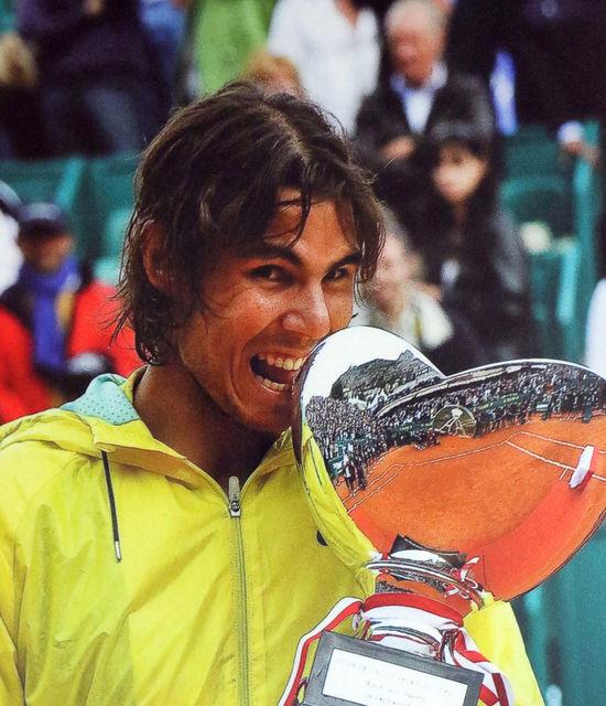 Rencontre avec Rafael Nadal pour le Monte-Carlo Rolex Master