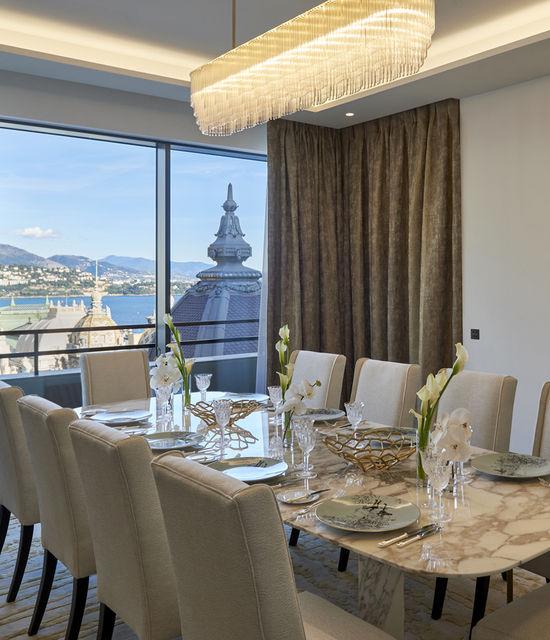 La Suite Prince Rainier III de l'Hôtel de Paris Monte-Carlo