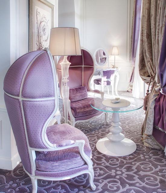 Diamond Suite vue Mer avec Jacuzzi Hôtel Hermitage Monte-Carlo Monaco - chambre