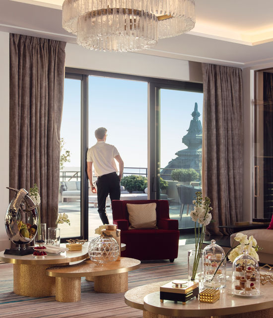Diamond Suite Prince Rainier III Hôtel de Paris Monte-Carlo Monaco - salon
