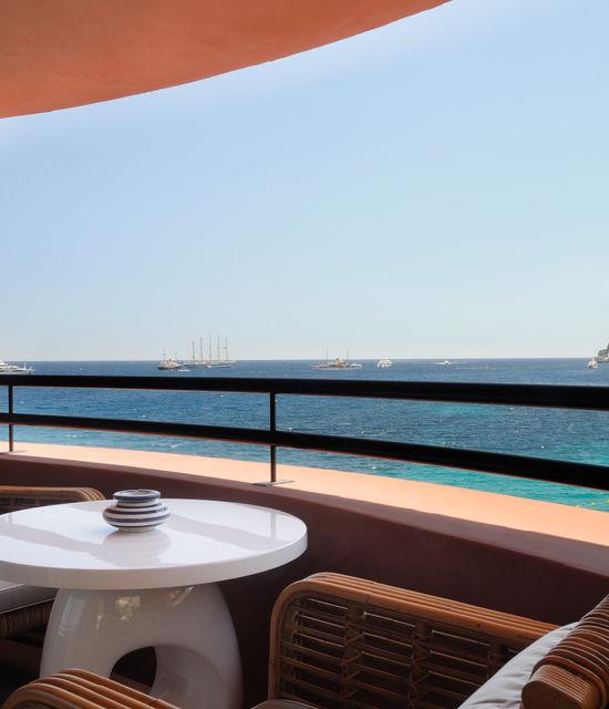 Hôtel de bord de Mer avec vue sur la Méditerranée