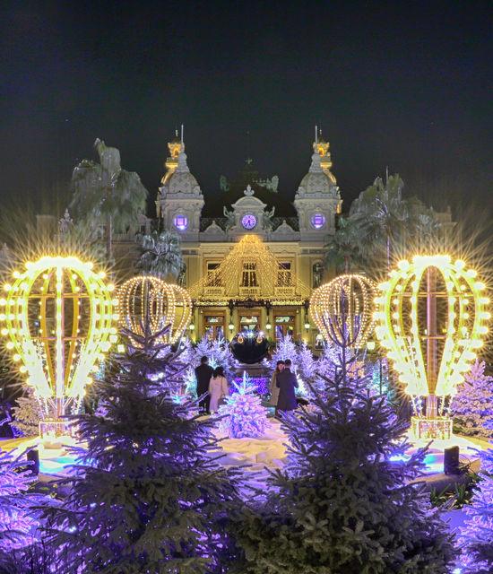 Monaco, Monte-Carlo Noel et Jour de l'an
