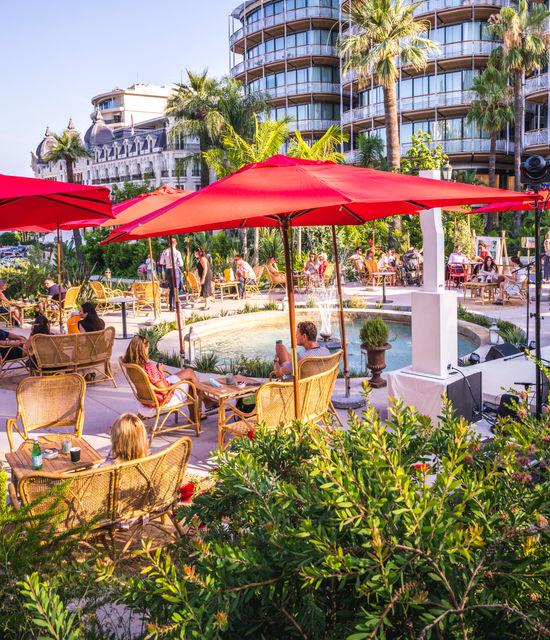Place du Casino -  Garden evenings & Balancelle swing 2020
