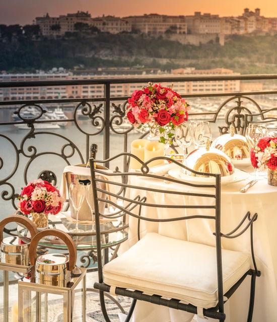 Suites de luxe pour weekend en amoureux à Monaco