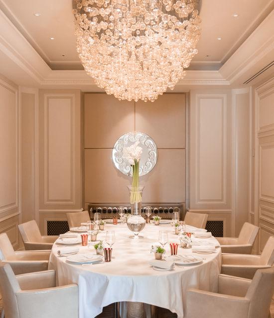 Hôtel Hermitage Monte-Carlo - Restaurant Le Vistamar - Salon Privé