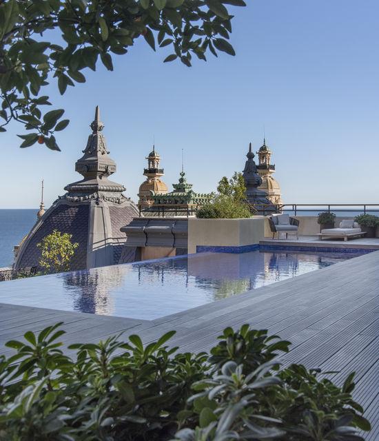 Suite avec jacuzzi privé à Monaco