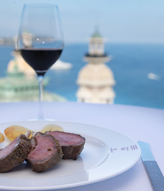 Hôtel de Paris - Restaurant - Le Grill - Plats
