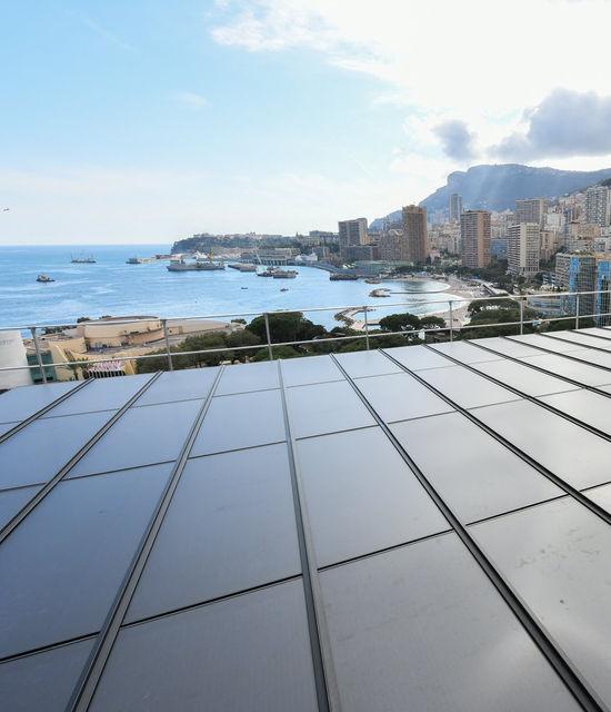 Monte-Carlo Bay - Installation de panneaux photovoltaiques