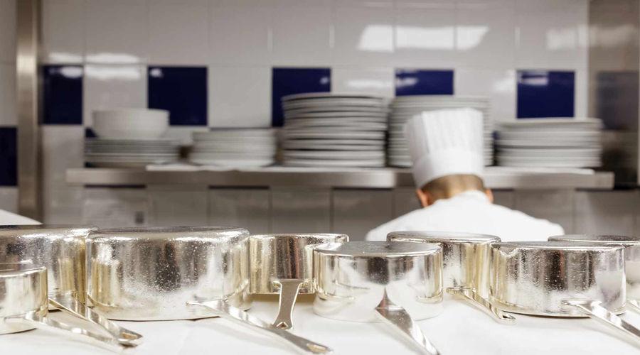 Cuisine Salle Empire Hotel de Paris Monte-Carlo Monaco