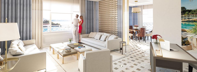 La Suite Eleven dans l'hôtel de luxe Monte Carlo Bay Hotel & Resort