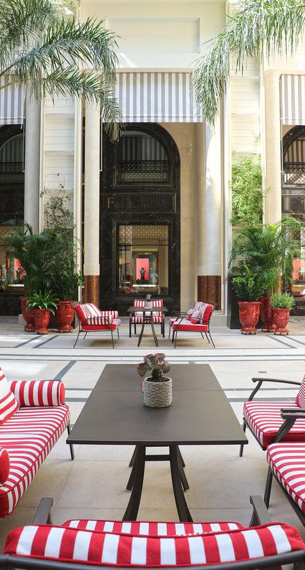 Le Patio des Joailliers à l'Hôtel de Paris Monte-Carlo