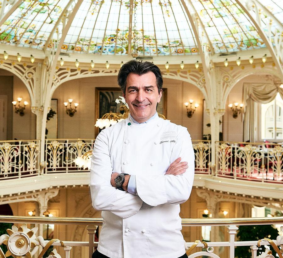 Yannick Alléno Hôtel Hermitage Monte-Carlo Monaco