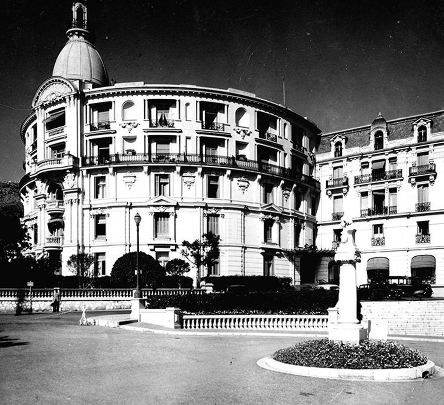 Rotonde Hotel de Paris Monte-Carlo Monaco