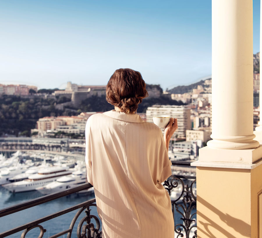 Diamond Suite Princière Hôtel Hermitage Monte-Carlo Monaco - terrasse