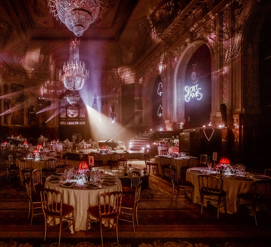 Casino de Monte-Carlo - Soiree « Secret Games »