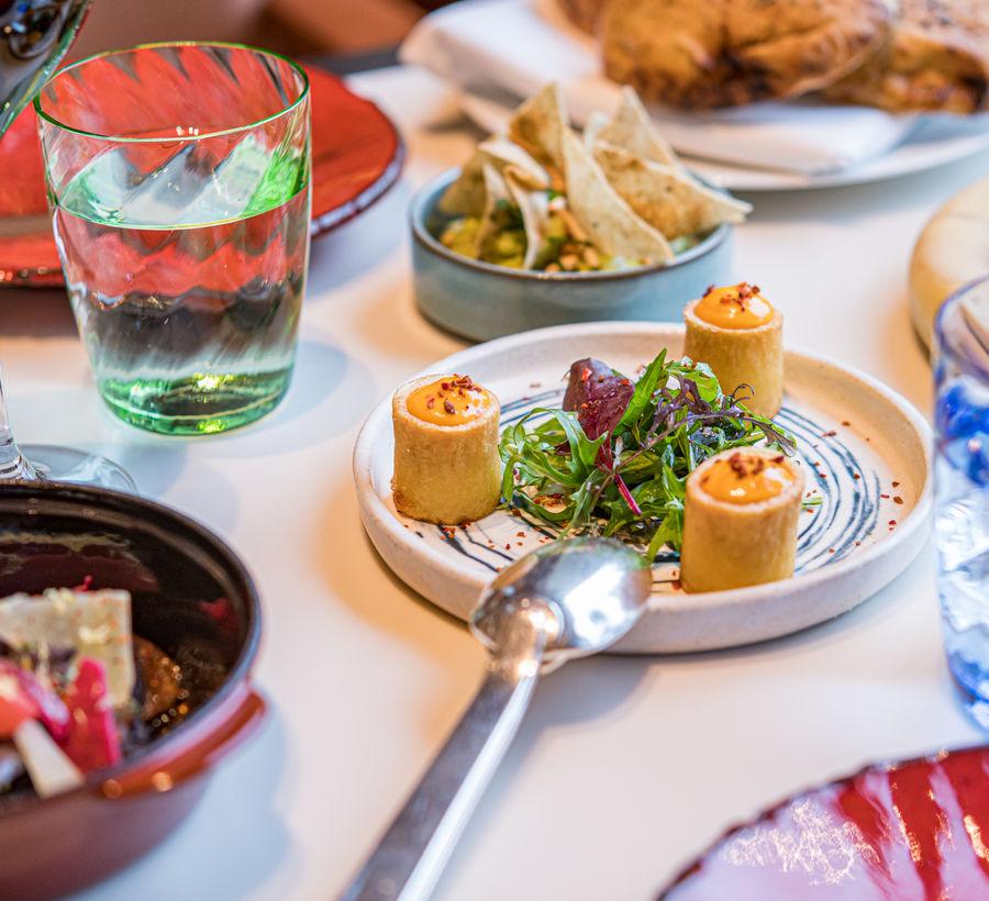 Arts de la table au restaurant Ômer à Monaco