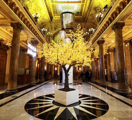 Campagne Make a Wish 2021 arbre à souhaits Atrium Casino Monaco Monte-Carlo