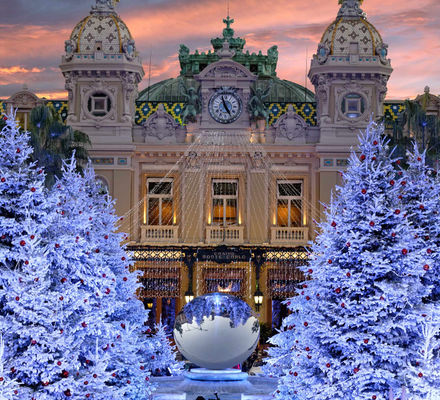 Casino de Monte-Carlo Monaco Jeux Hiver