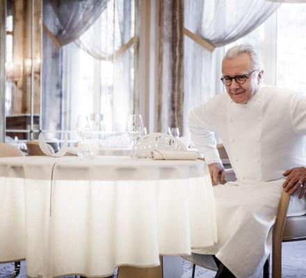 Chef étoilé Alain Ducasse le Louis XV Restaurant Hôtel de Paris Monte-Carlo Monaco