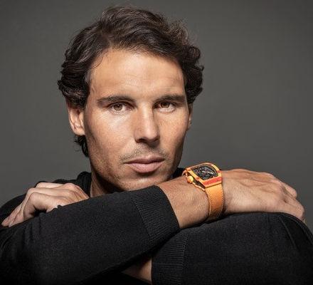 Nadal tennis rolex
