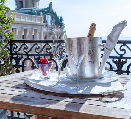 Suite Amenities de l'Hôtel de Paris Monte-Carlo