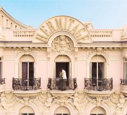 Diamond Suite vue Mer avec Jacuzzi Hôtel Hermitage Monte-Carlo Monaco - jacuzzi