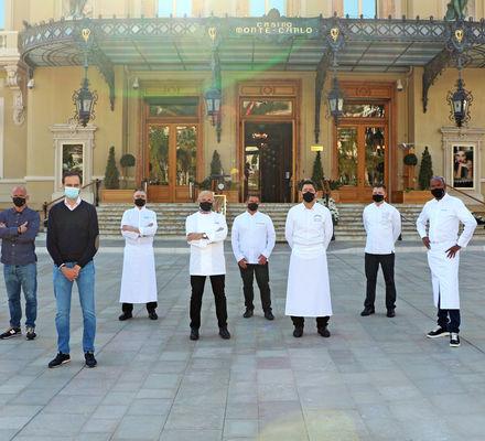 Semaine Solidaire 2021 Chefs - Monte-Carlo SBM Monaco