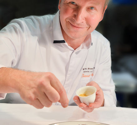 Hôtel Hermitage - Chef Benoit Witz
