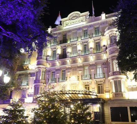 Hôtel Hermitage - Square Beaumarchais - Décorations Fêtes de Fin d'Année 2019