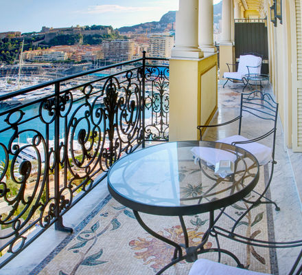 Hôtel Hermitage - Diamond Suite Presidentielle - terrasse