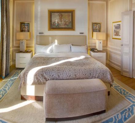 Hôtel Hermitage - Diamond Suite 740 - Chambre