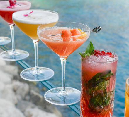 Monte Carlo Bay - Bar Le Blue Gin - Summer Cocktail