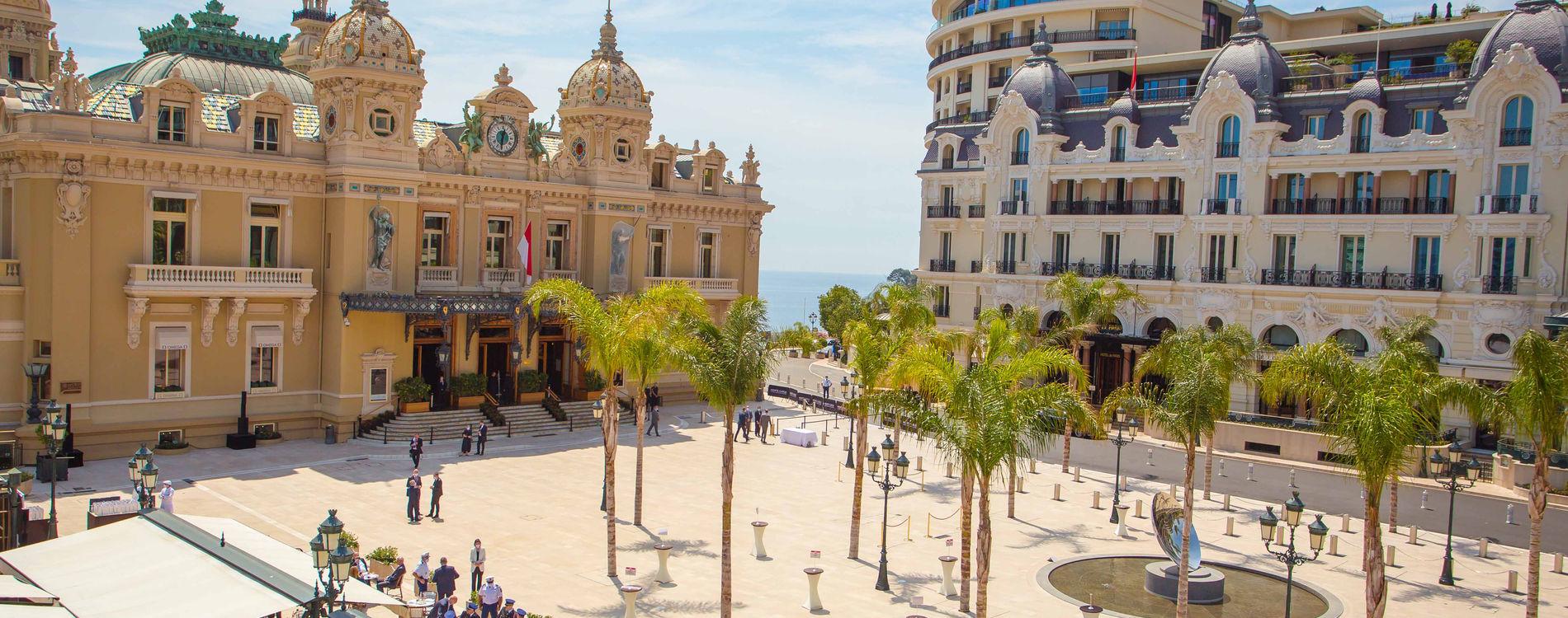 Inauguration Place du casino Monaco