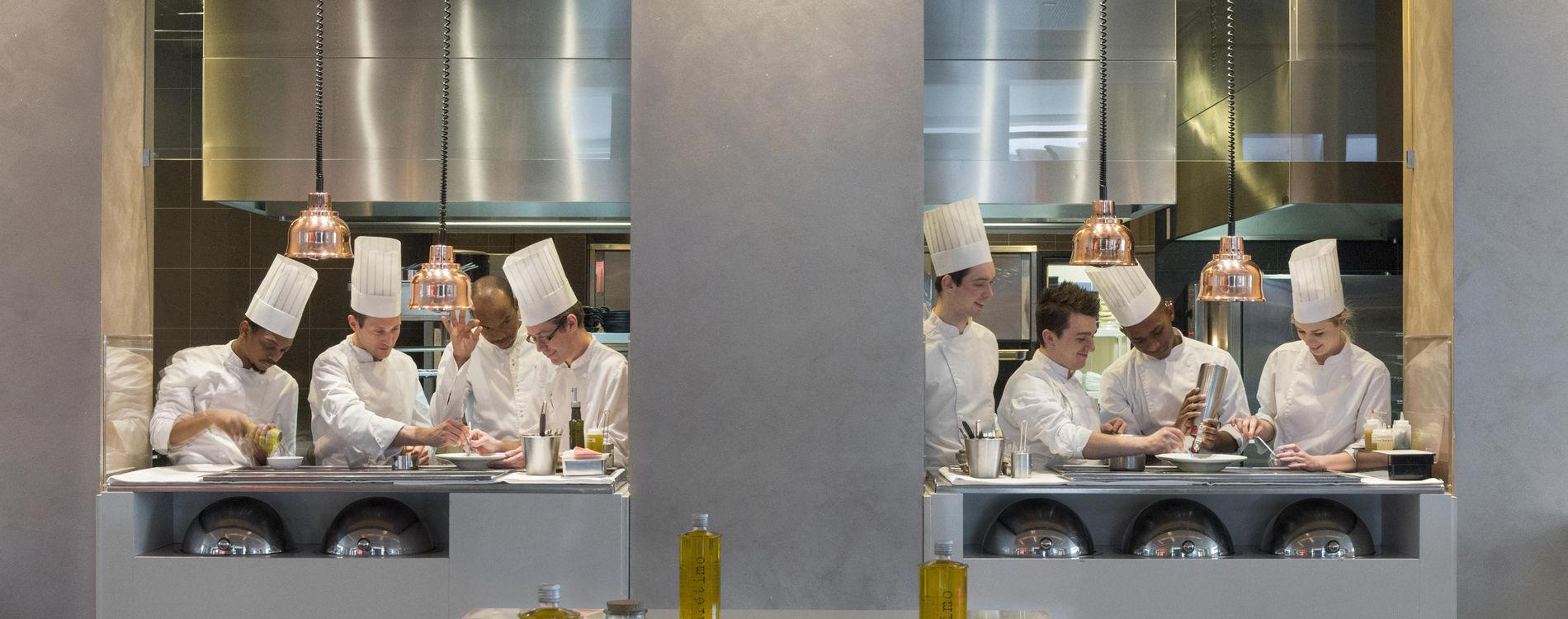 Monte-Carlo Bay Blue Bay Restaurant Monaco Chef Marcel Ravin
