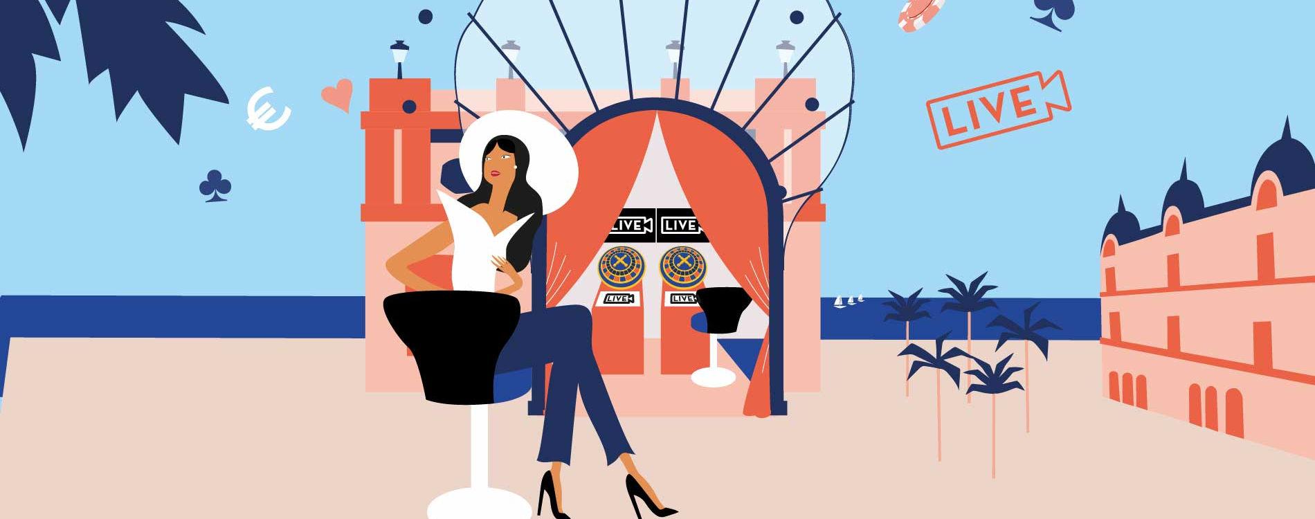 casino café de paris live gaming corner