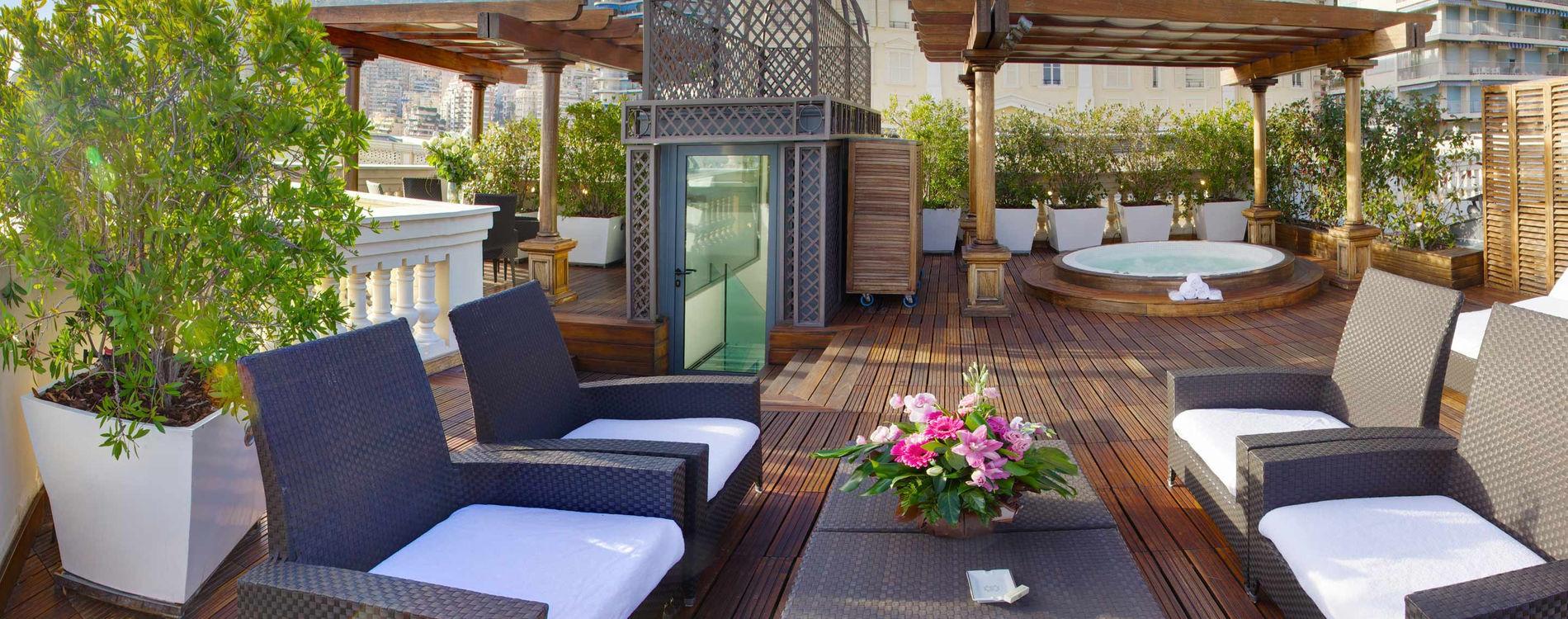 Diamond Suite duplex hotel hermitage monaco