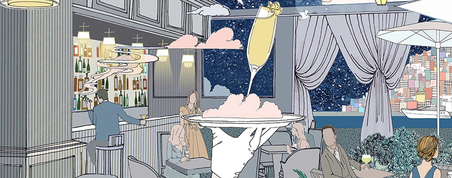 Le Bar Américain de l'Hôtel de Paris Monte-Carlo