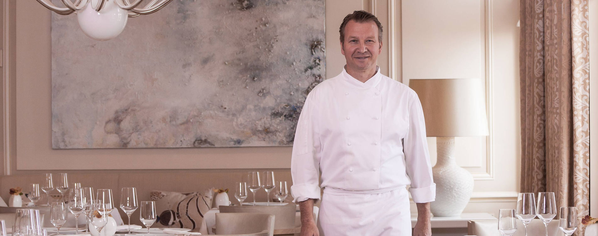 Hotel Hermitage Monte-Carlo Restaurant Le Vistamar Monaco Chef Benoit Witz