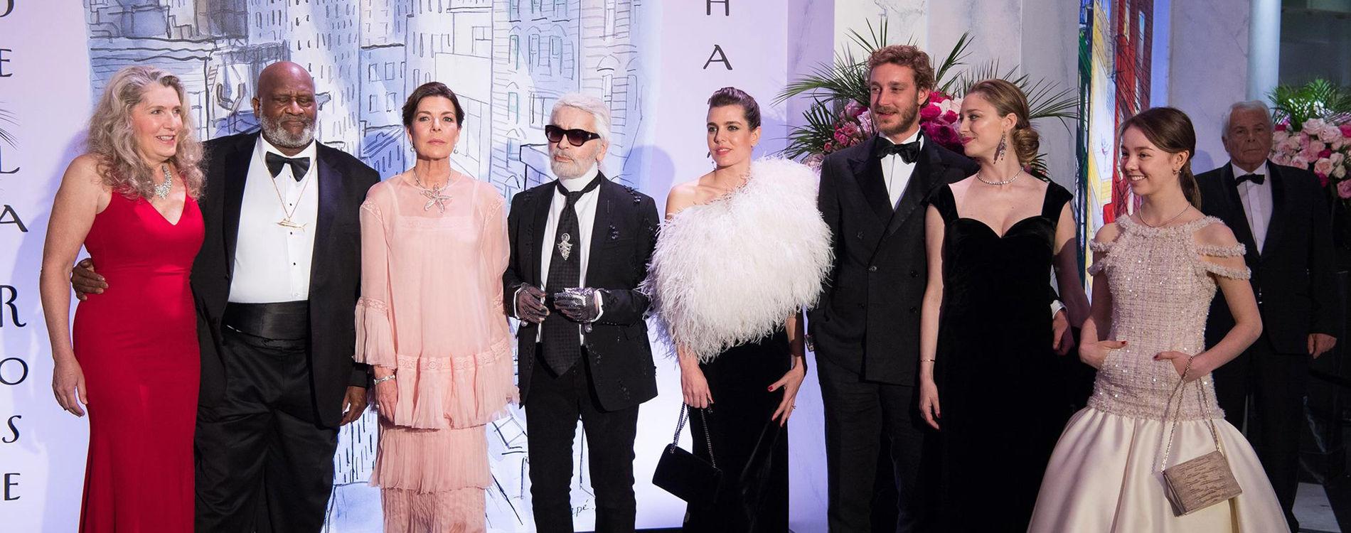Karl Lagerfeld et Monaco Monte-Carlo