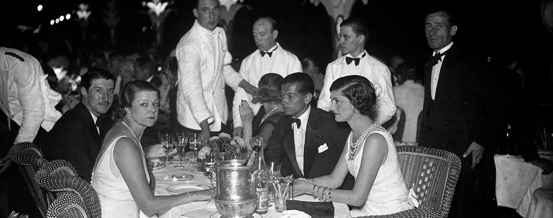 Gabrielle Coco Chanel Serge Lifar Patio Villa La Pausa Monaco