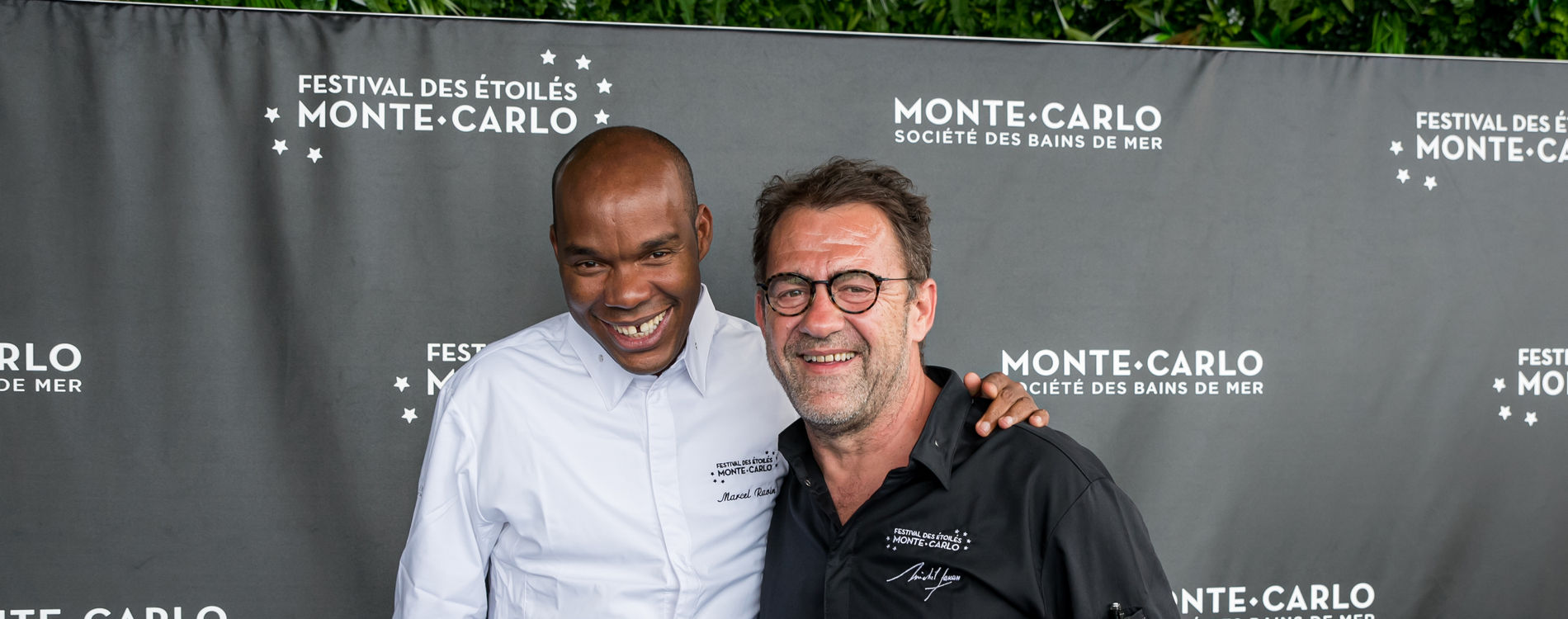 Festival des Etoilés Monte-Carlo- dîner Sarran/Ravin au Blue Bay